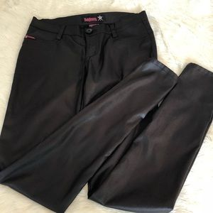 Pants - Bubblegum slim black pants